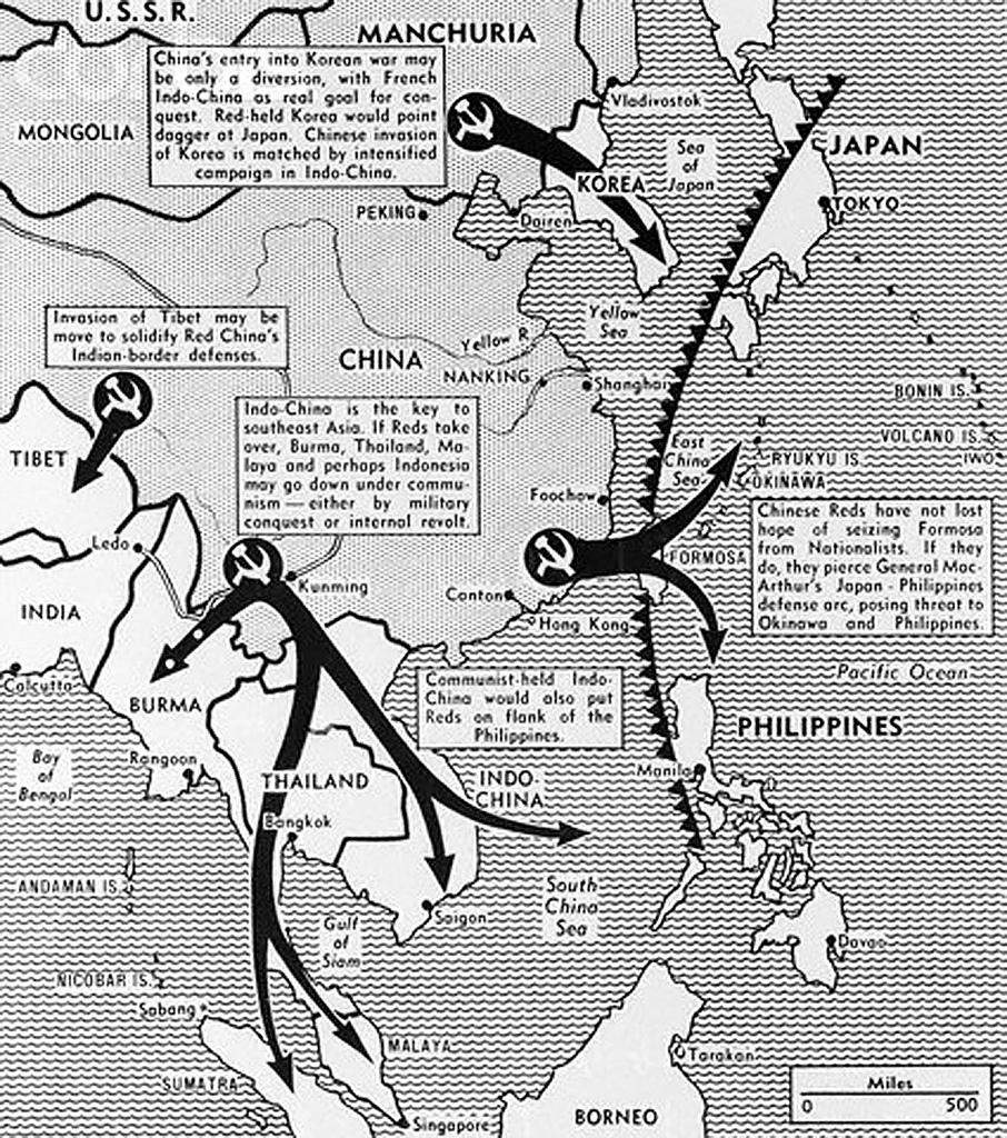 Domino Theory The Vietnam War