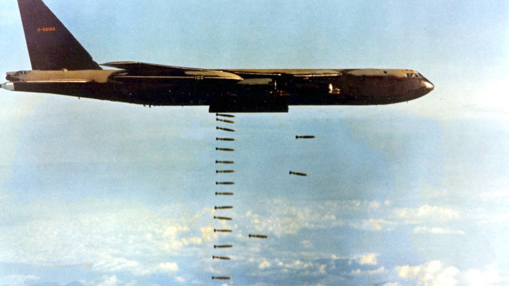 Vietnam 12 February 1974 - U.S. Air Force Boeing B-52D-60-BO Stratofortress